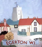 Egerton WI's historic tapestry